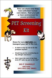 Pet Screening Kit